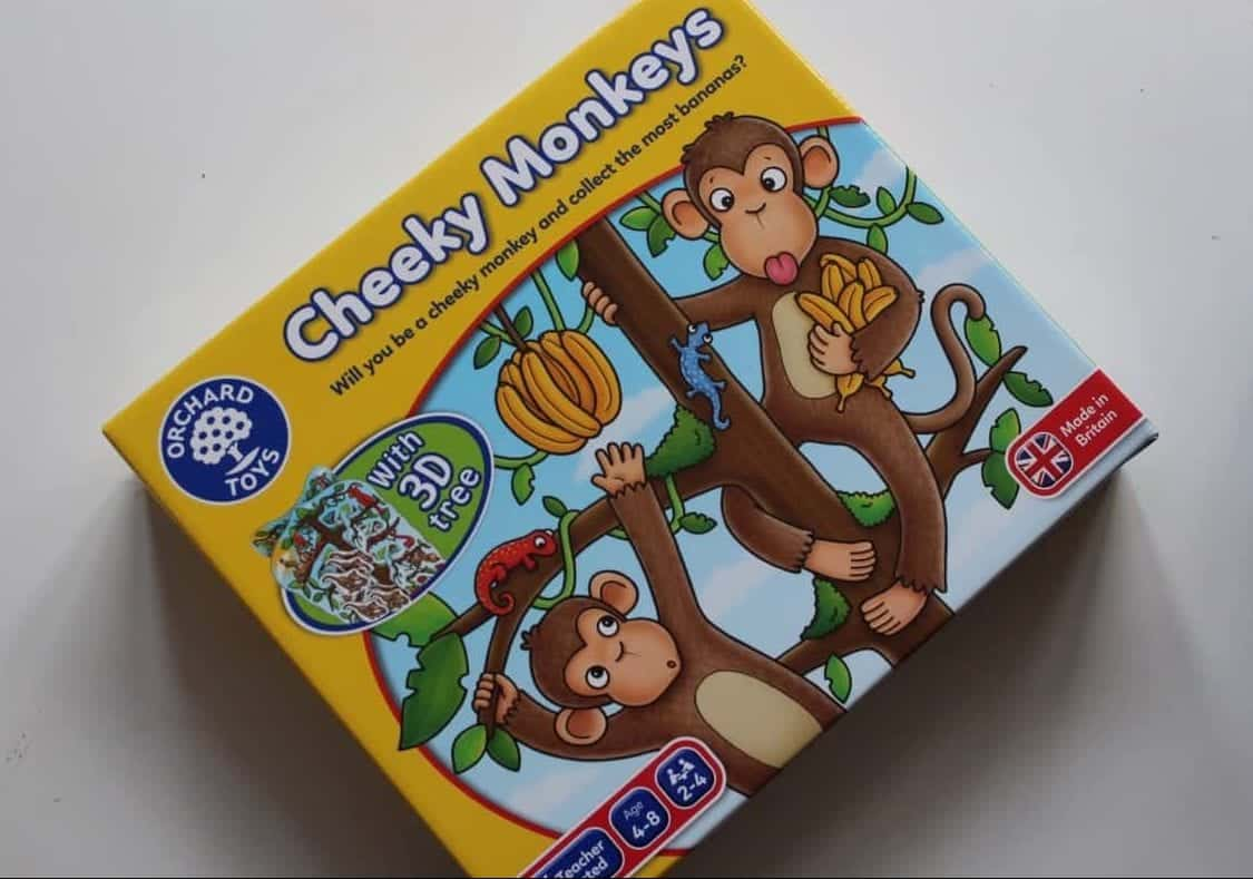 Review: Orchard Toys - Cheeky Monkeys