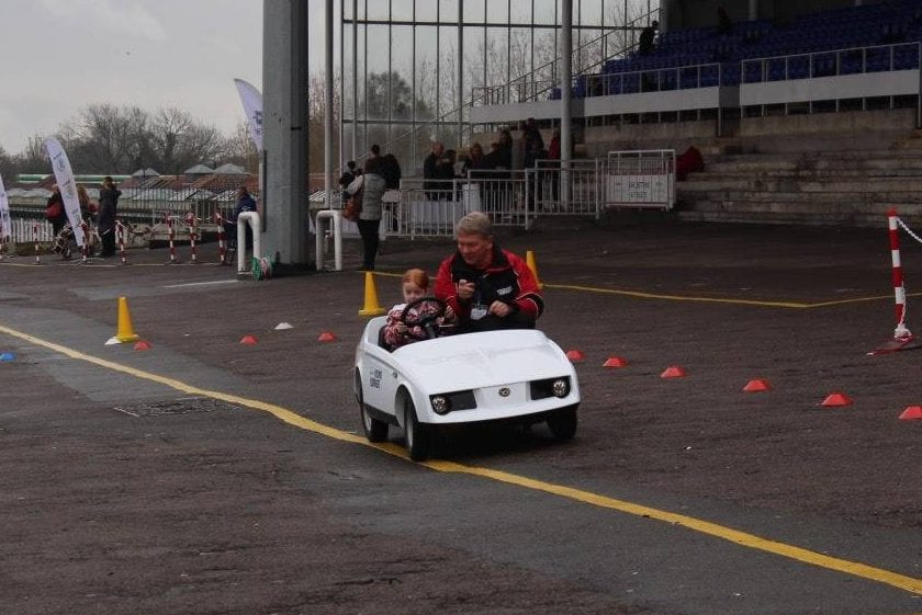 Learning to Drive - aged Five - with Admiral's Young Driver