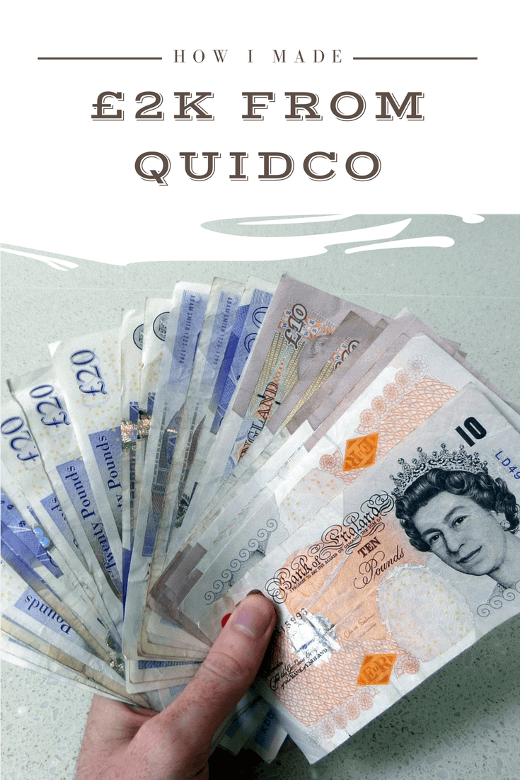 How I Earned £2k in Quidco Cashback