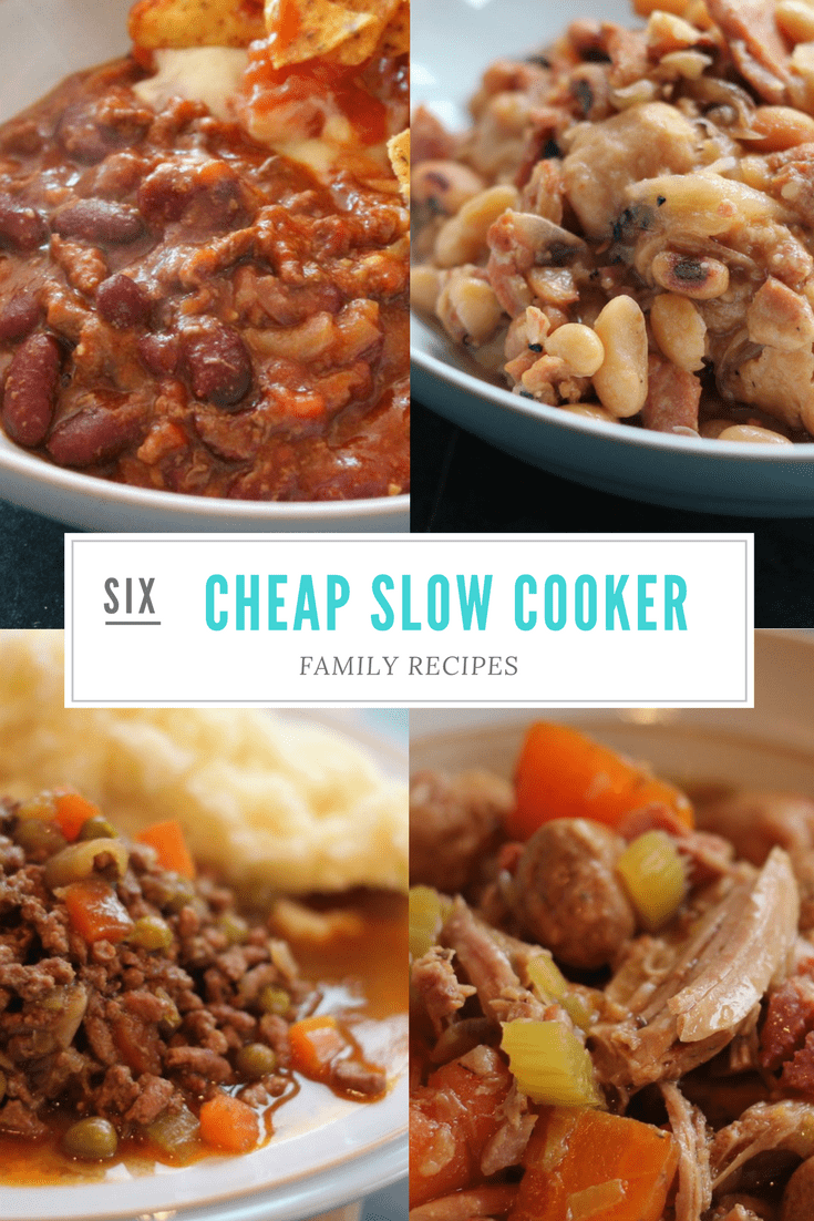 6 Cheap Slow Cooker Recipes for the Whole Family