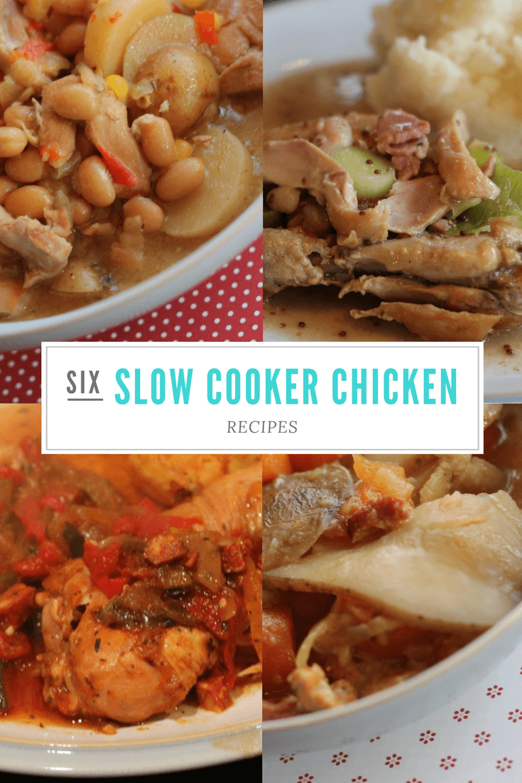 6 Slow Cooker Chicken Recipes