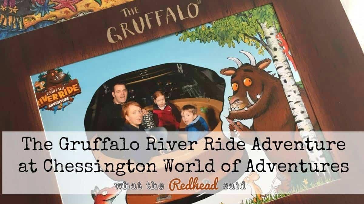 The Gruffalo River Ride Adventure At Chessington World Of