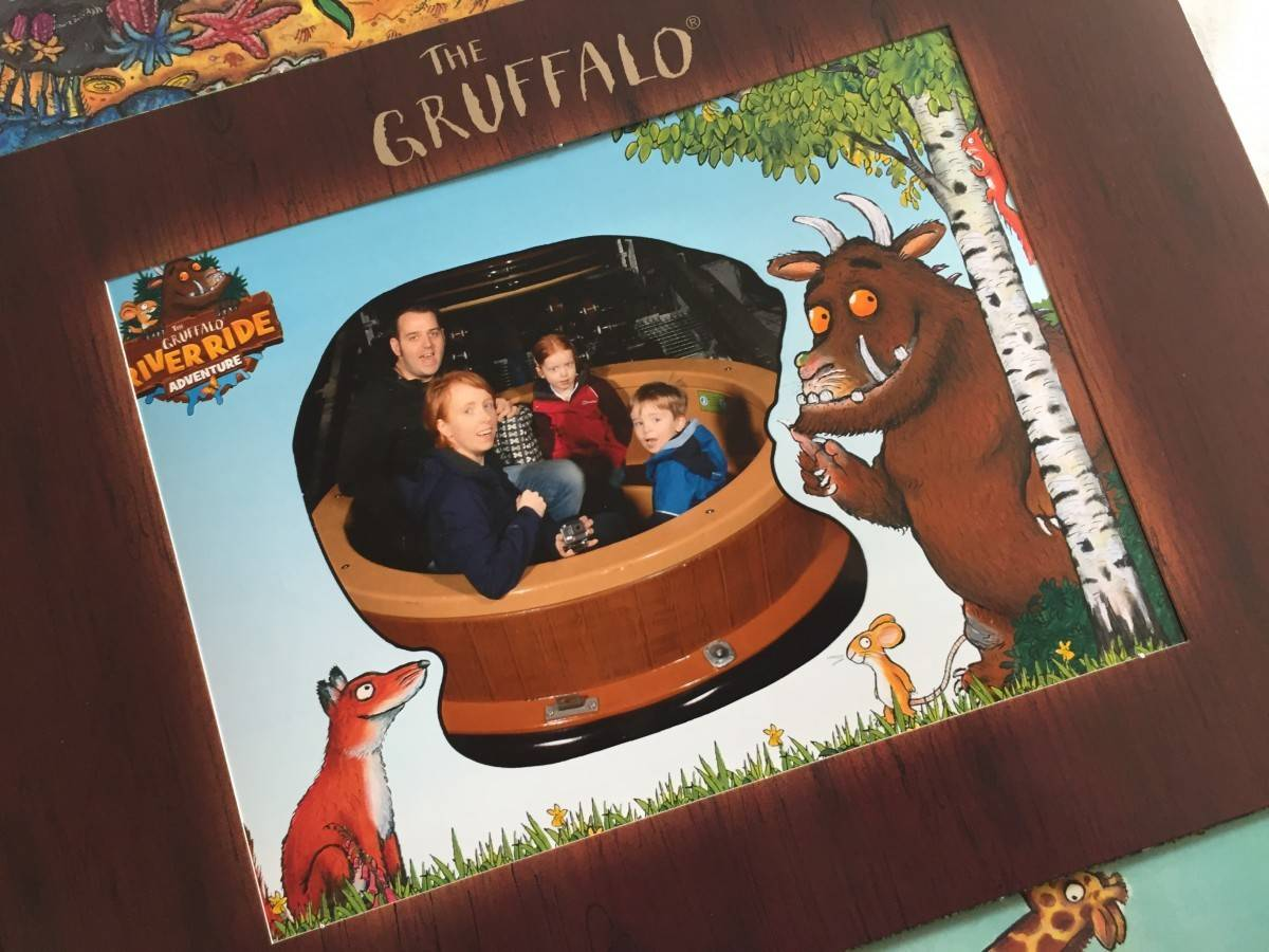 The Gruffalo River Ride Adventure at Chessington World of Adventures