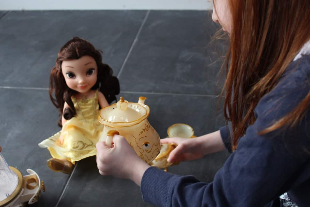 Enjoying Beauty and the Beast Toys from Jakks Pacific