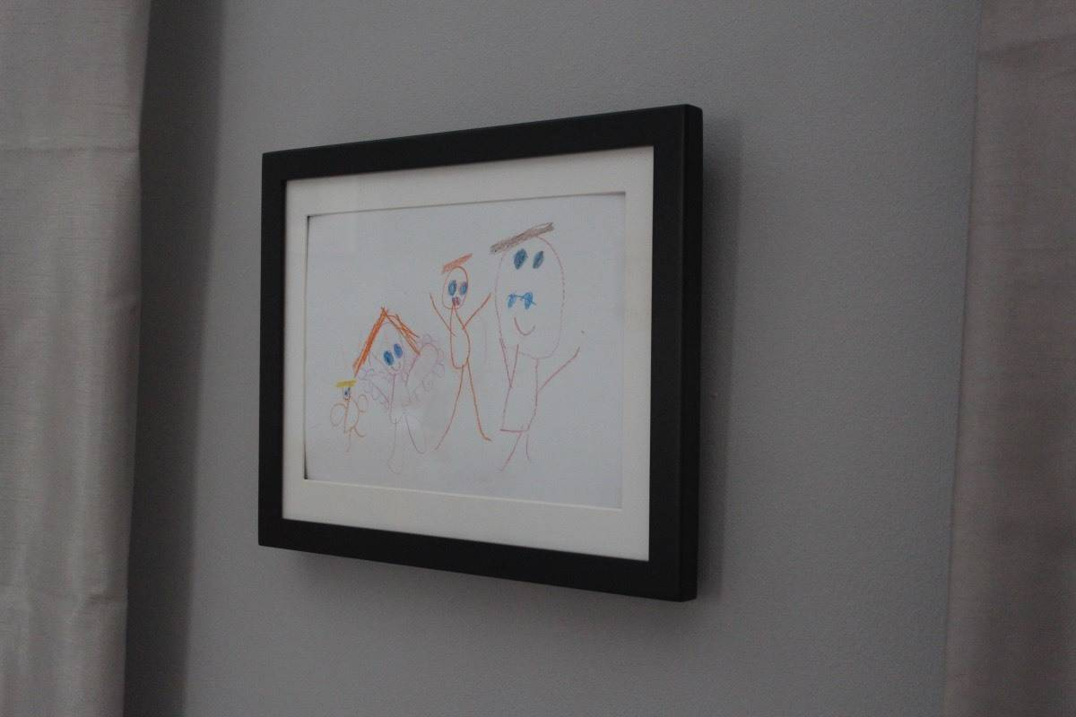 Childrens Artwork Display Keep Your Childrens Artwork Safe And On Display With My Little