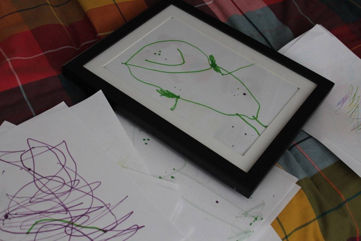 Keep your Children's Artwork Safe and on Display with My Little Davinci