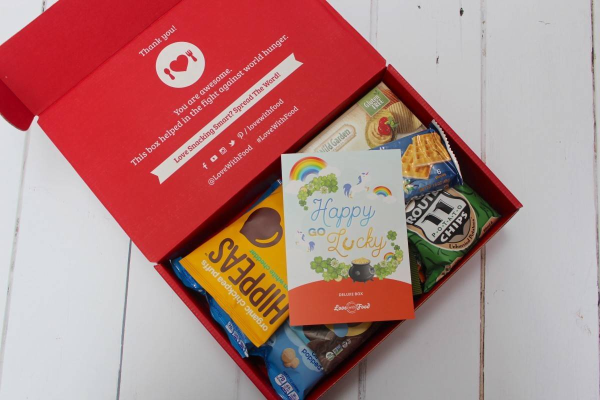 Review: Love with Food Subscription Box