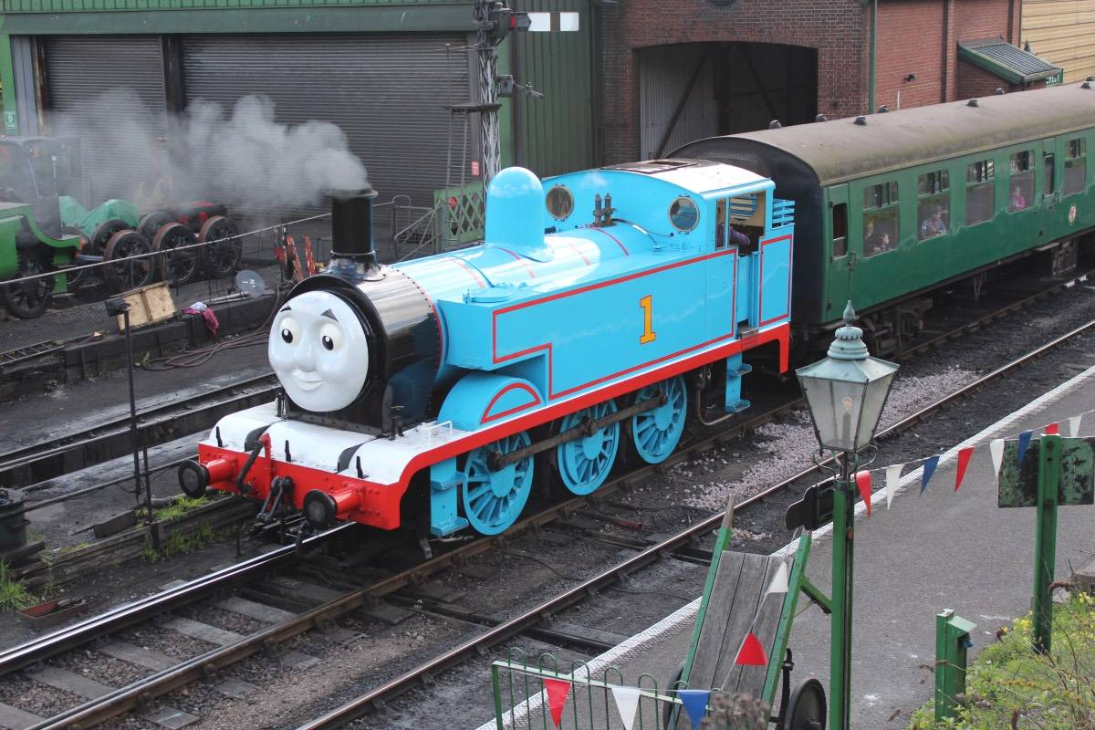 A Day Out with Thomas on the Mid Hants Railway - The Watercress Line