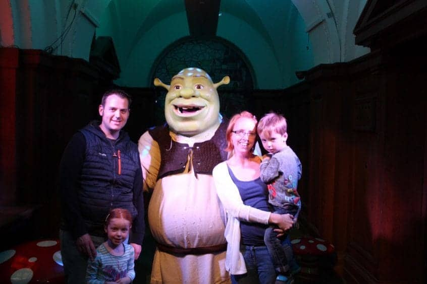 A Day out at Shrek's Adventure