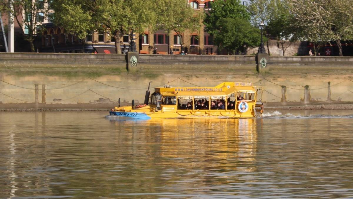 Our first London Duck Tours Experience