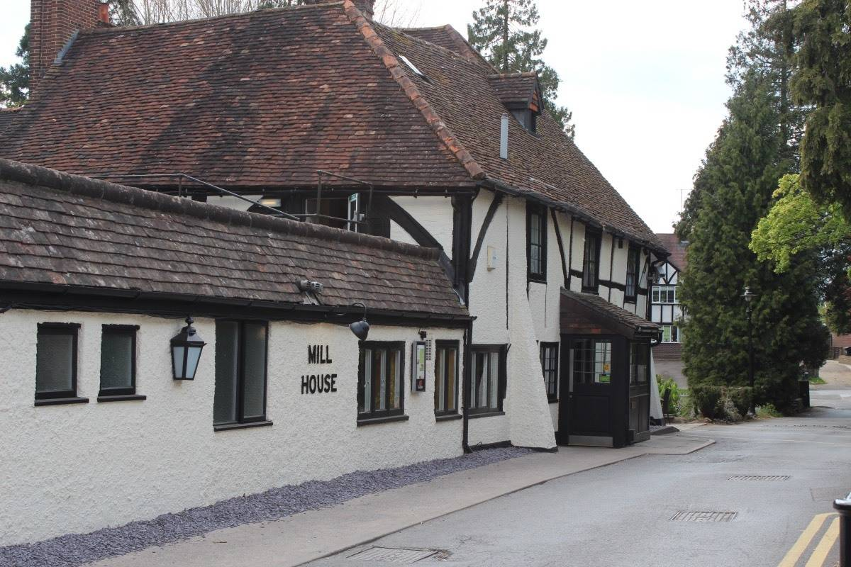 A Family Meal at Beefeater's Mill House Restaurant, Redhill
