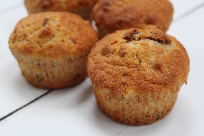 Fruity Nutty Banana Muffins Recipe