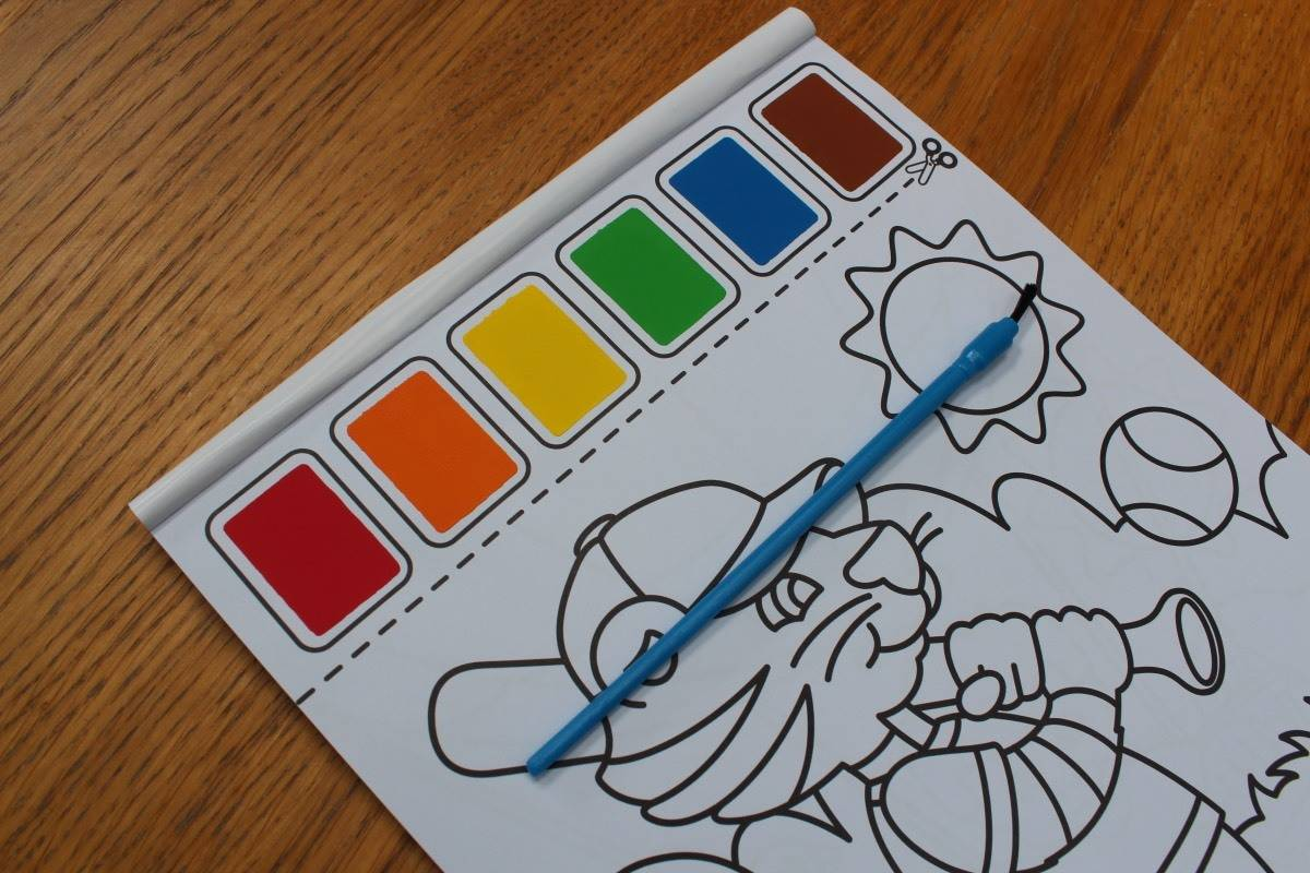 Review: Magic Fairy Wings Paint with Water Art Pads