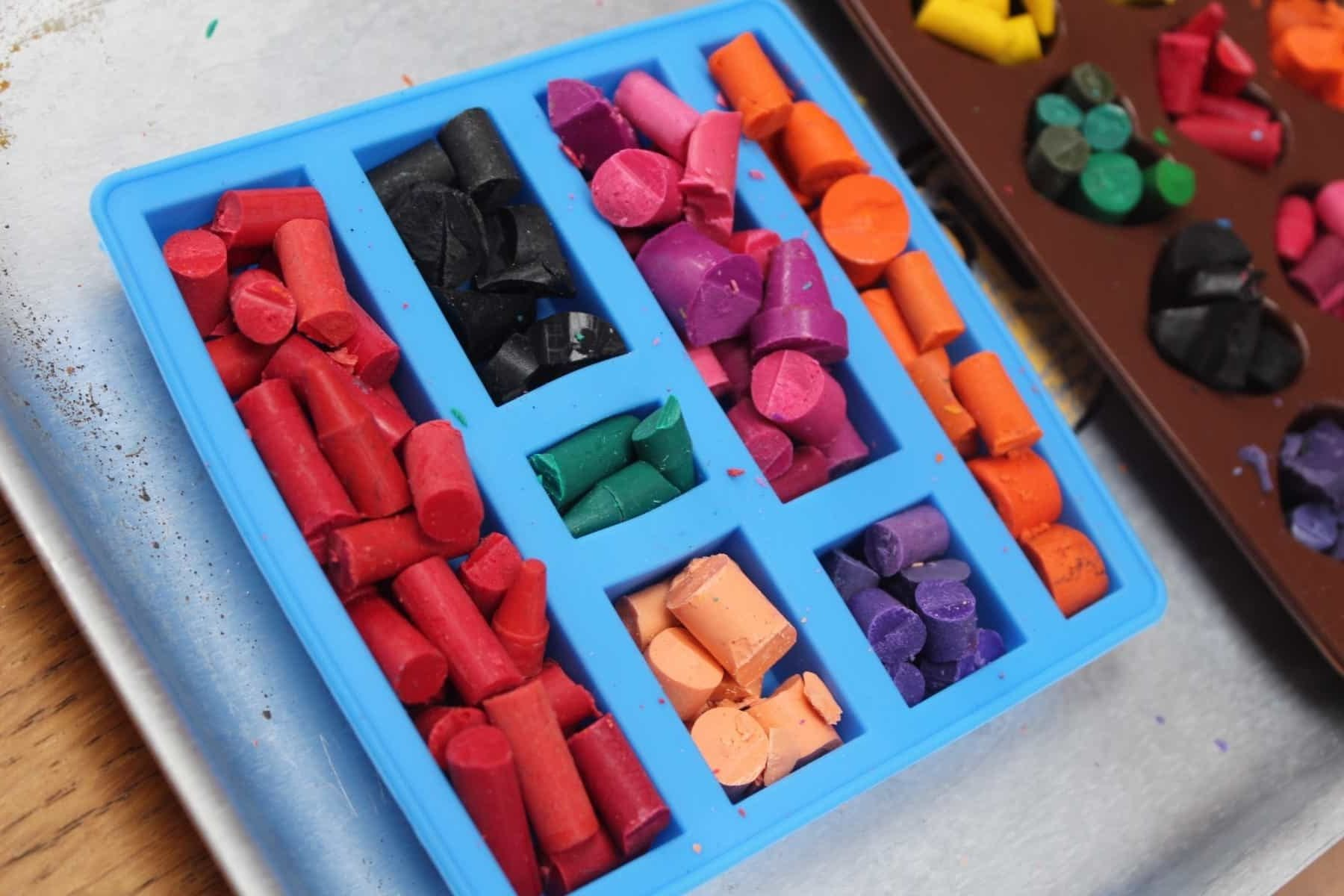 How to Make Homemade Crayon Shapes