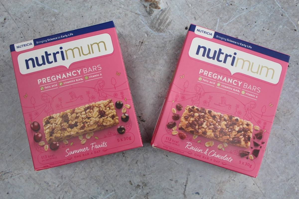 The Tasty Snack for you during Pregnancy - nutrimum Pregnancy Bars #ad #nutrimum