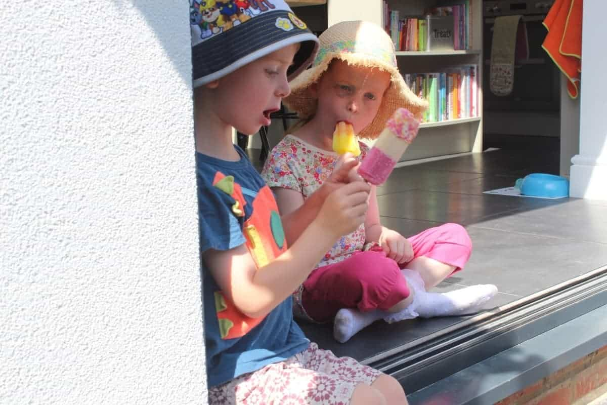 Back Step Ice Lollies {The Ordinary Moments}