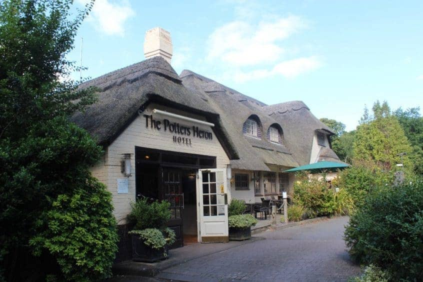 A Weekend Break at The Potters Heron Hotel, Hampshire