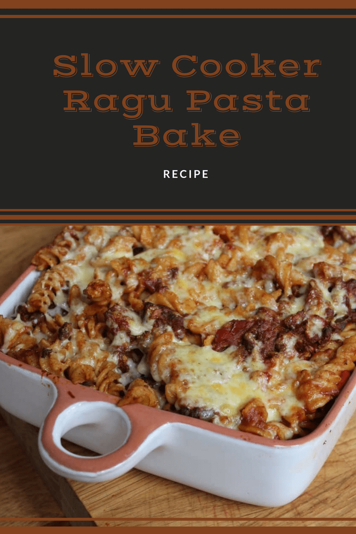 Slow Cooker Ragu Pasta Bake Recipe