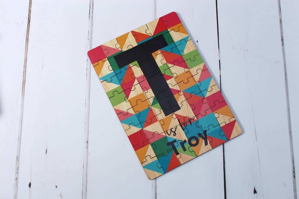 Review: Tinyme Personalised Jigsaw