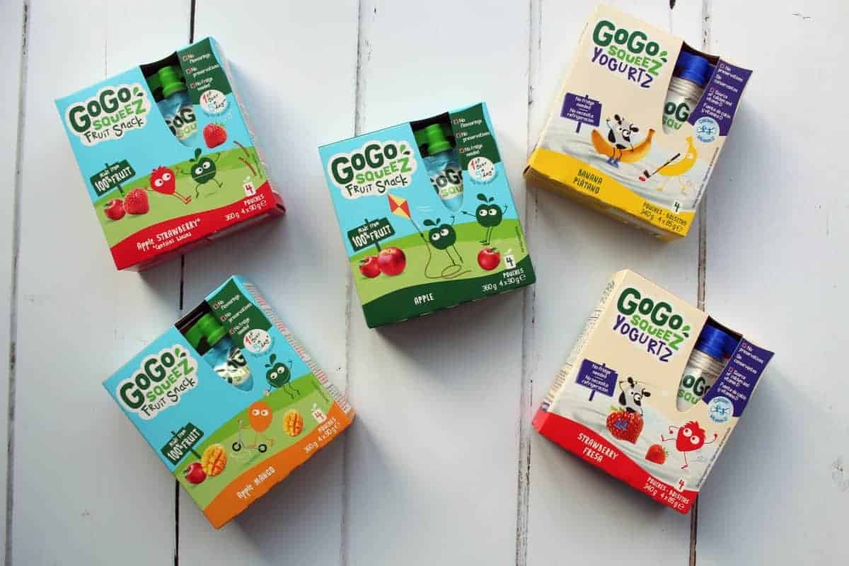 Snacking the easy way with GoGo squeeZ - and Win!