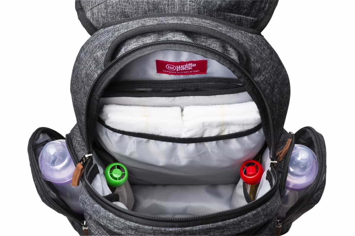 Introducing the Wolffepack Luna - an innovation in baby change bags!