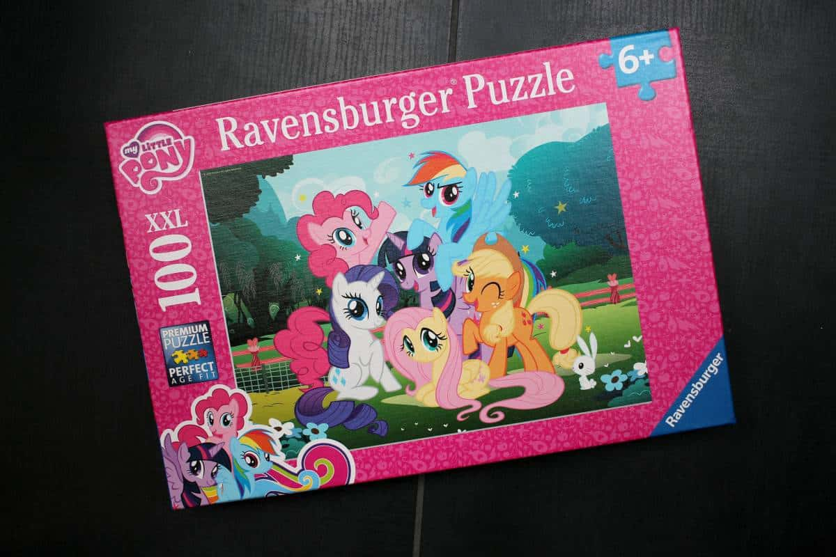 Review: Ravensburger XXL My Little Pony 100 Piece Puzzle