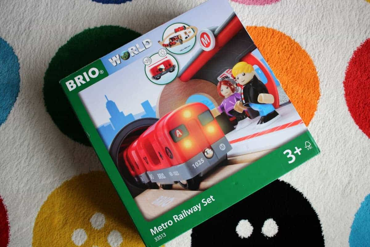 Review: BRIO Metro Rail Set