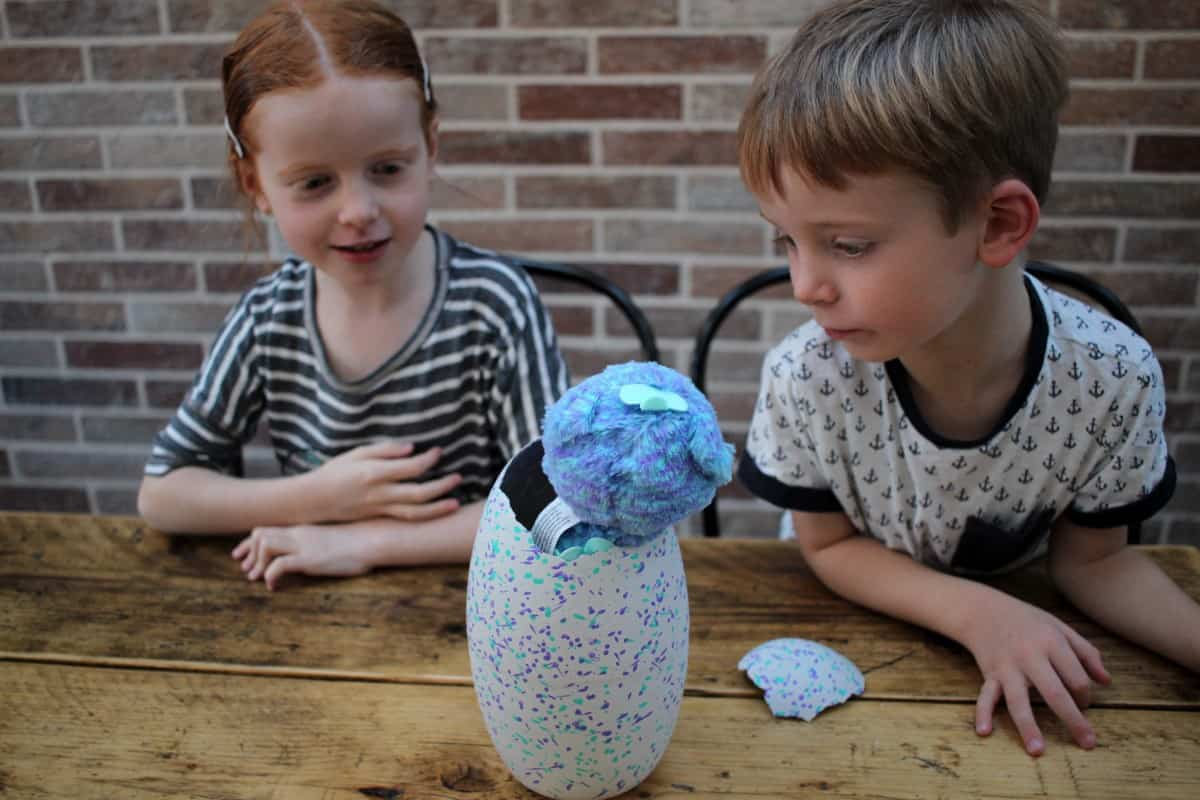Review: Hatchimals Surprise! Egg hatching