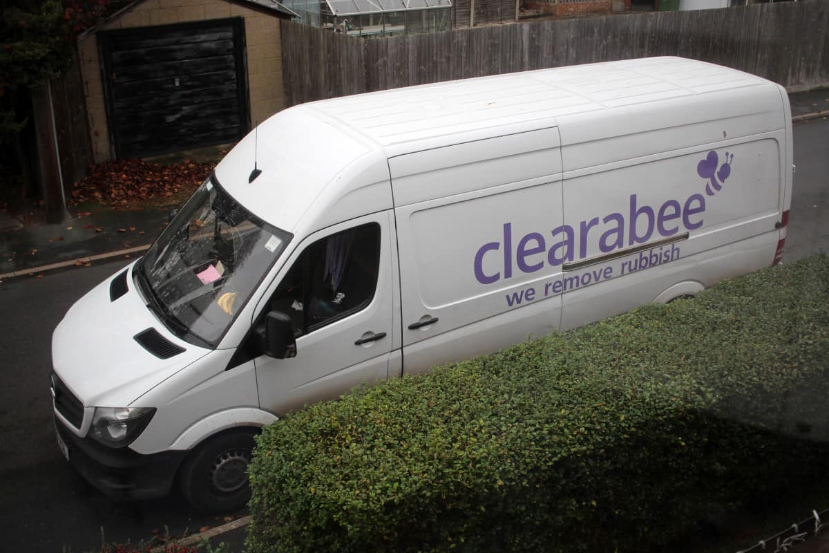 Decluttering our Shed with Clearabee
