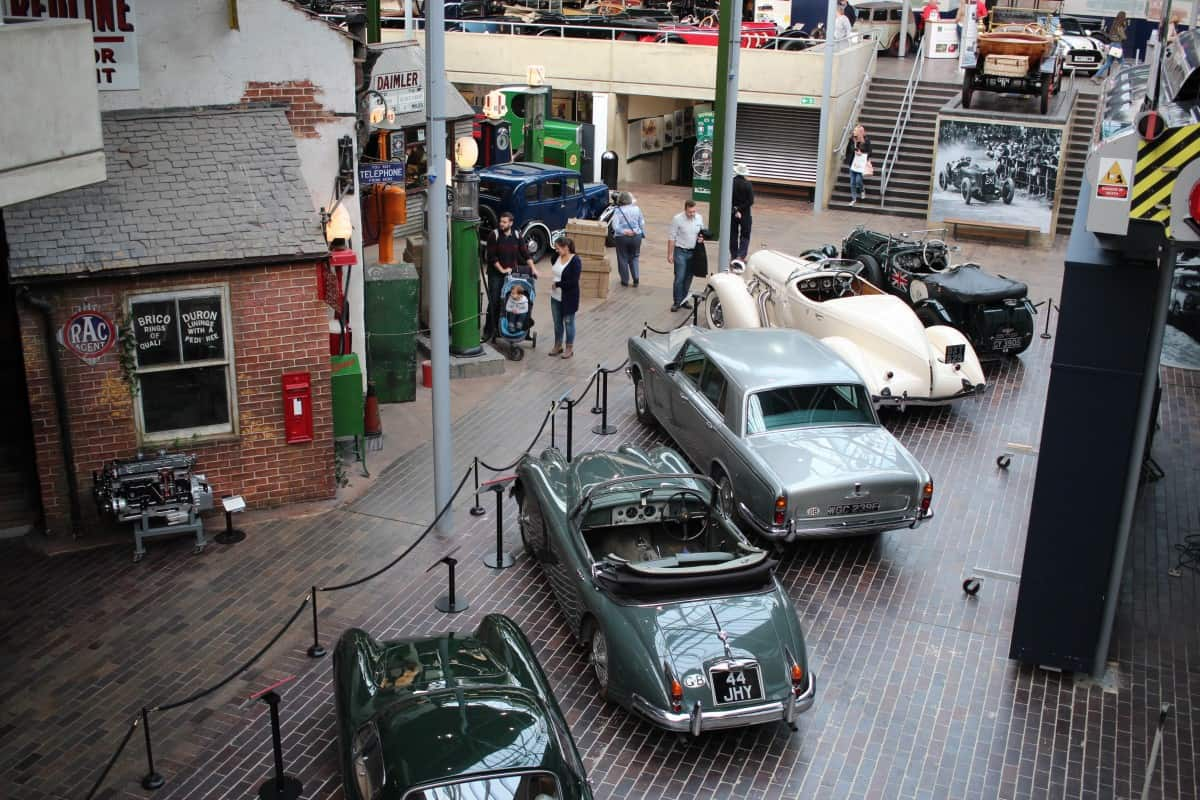 A lovely day at Beaulieu Motor Museum