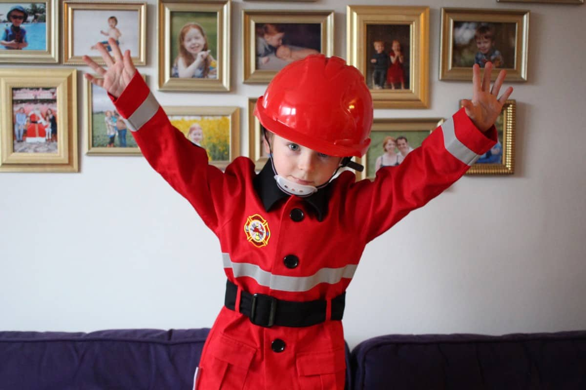 Review: Mermaids and Dragons Firefighter Costume