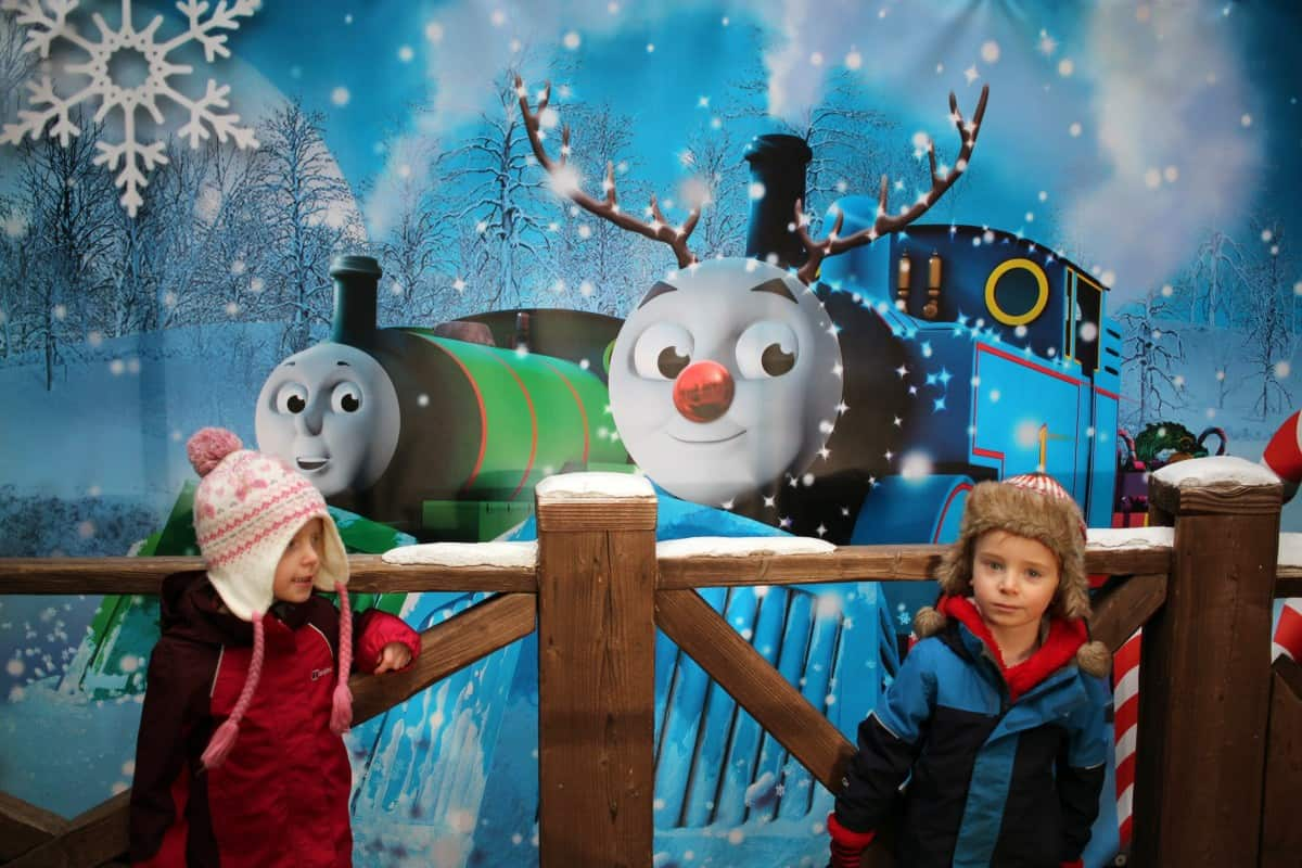 Getting into the festive spirit at Drayton Manor