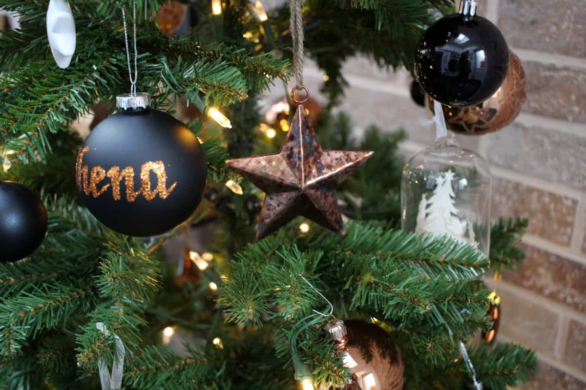 Making our Extension Festive with a Copper and Black Theme