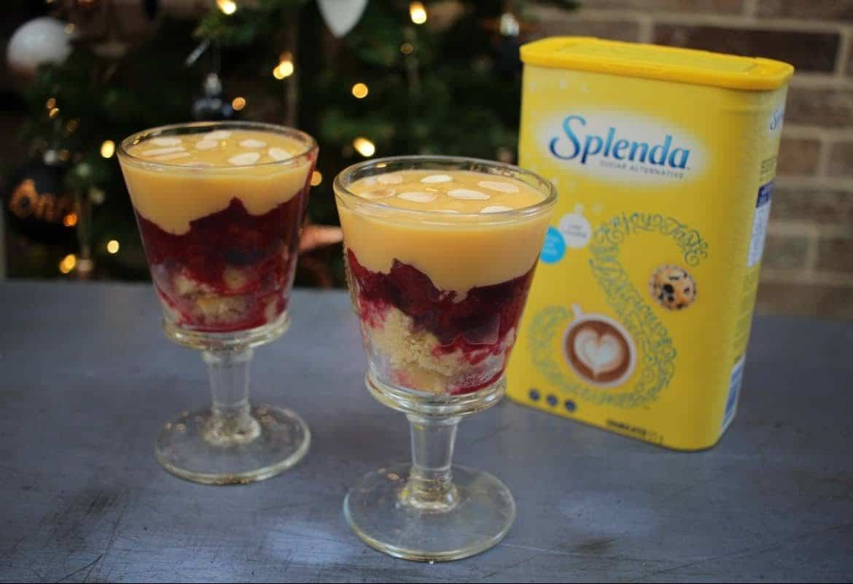 Recipe: A Low-Sugar Festive Trifle with Splenda