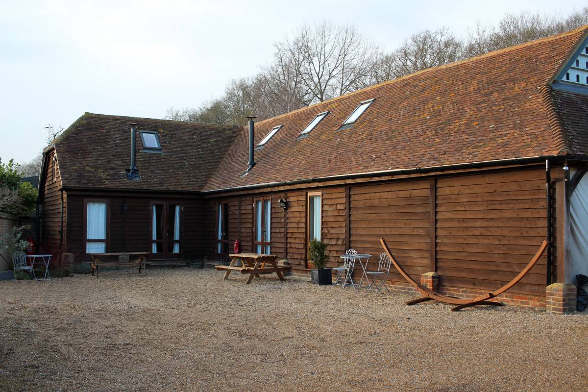 A December Weekend at the Lodges at New House Farm
