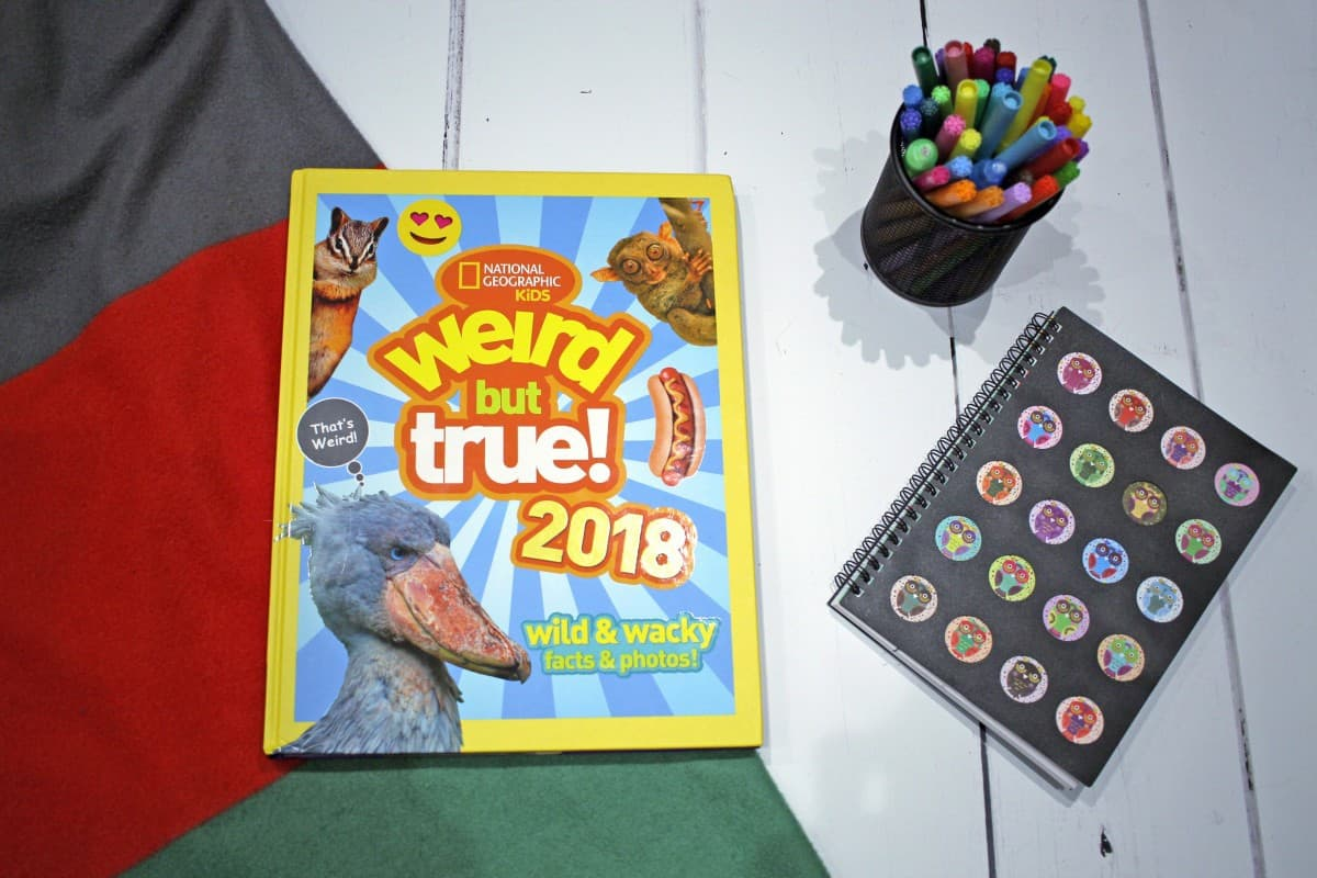 Review: National Geographic Kids Weird But True! 2018 Annual - and Discount Code!