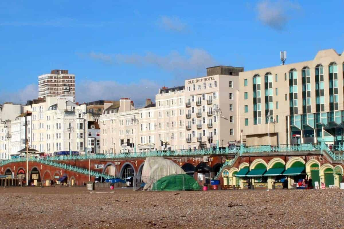 A family weekend at the old ship hotel brighton what for The brighton