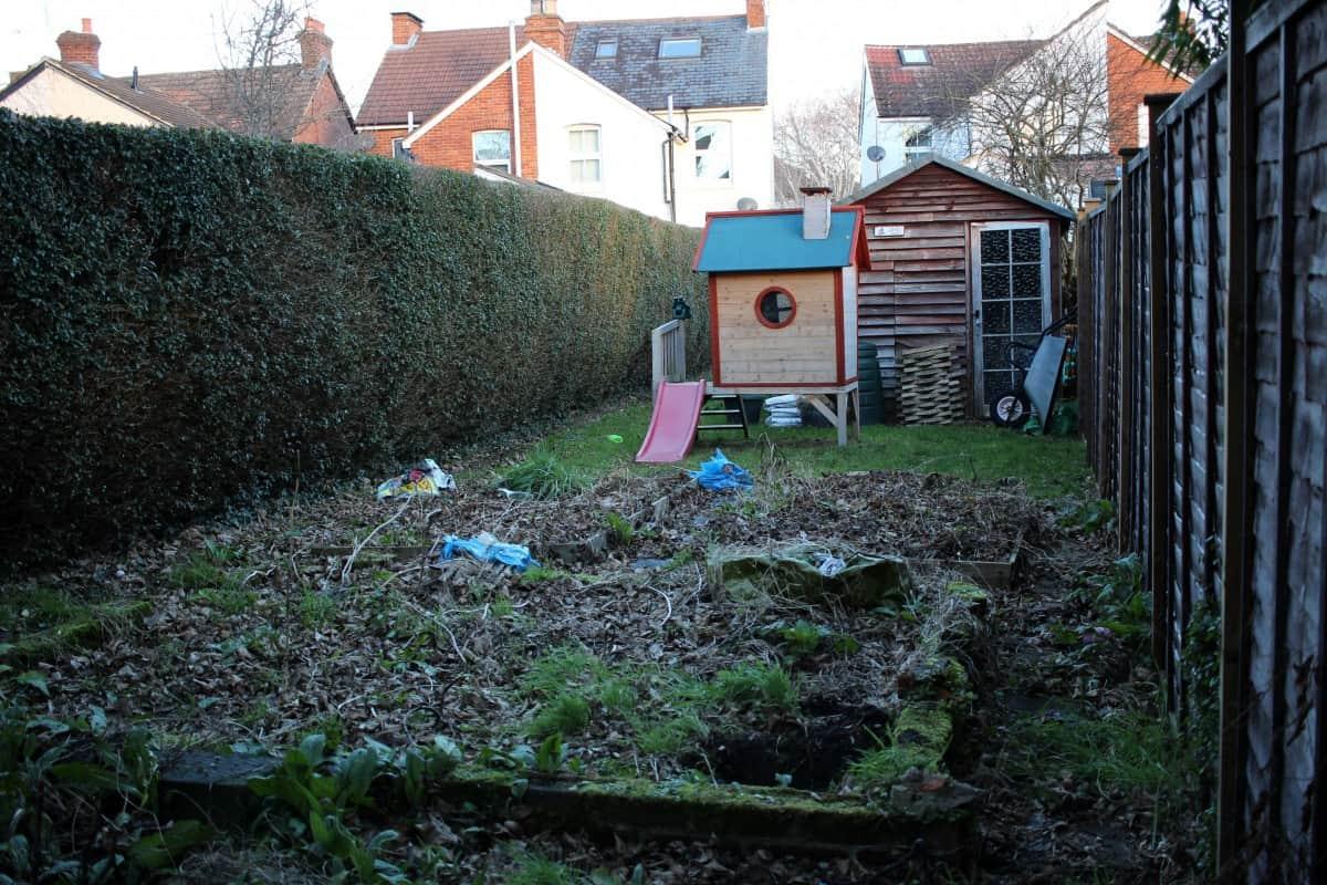 Our Garden - Before