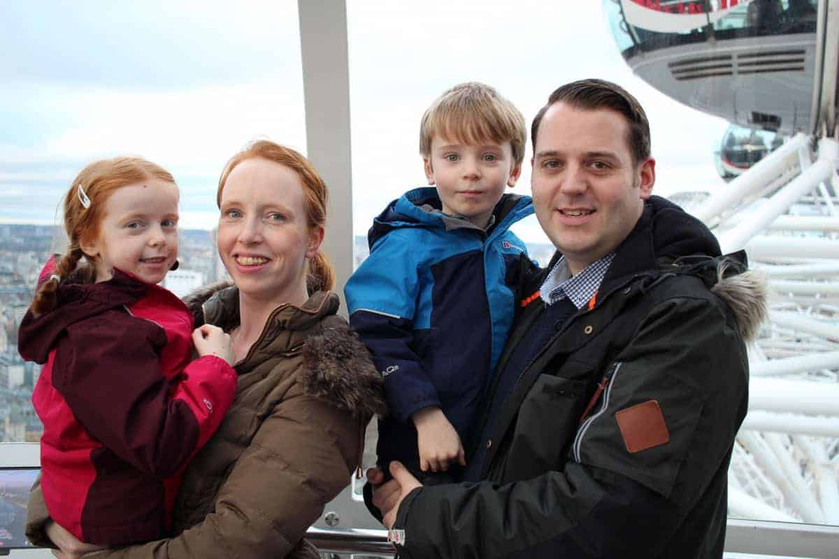 Making the most of the London Eye With Kids