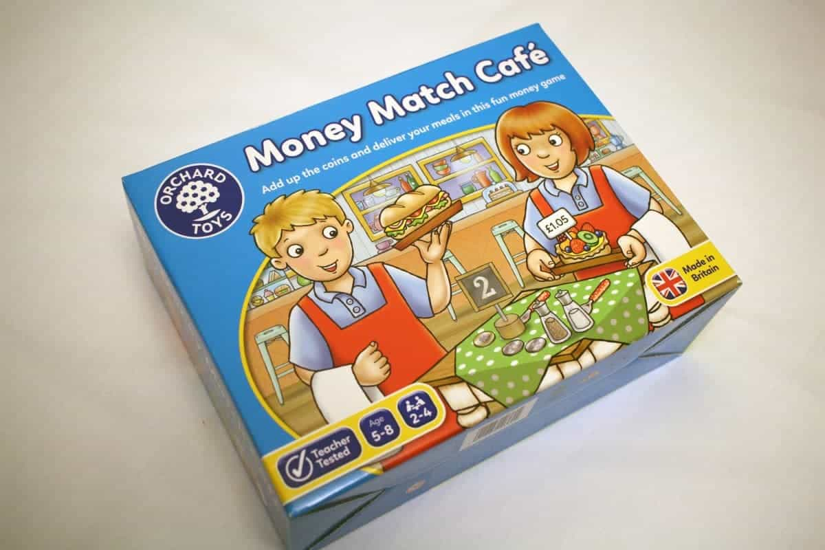 Orchard Toys Money Match Cafe Review and Giveaway!
