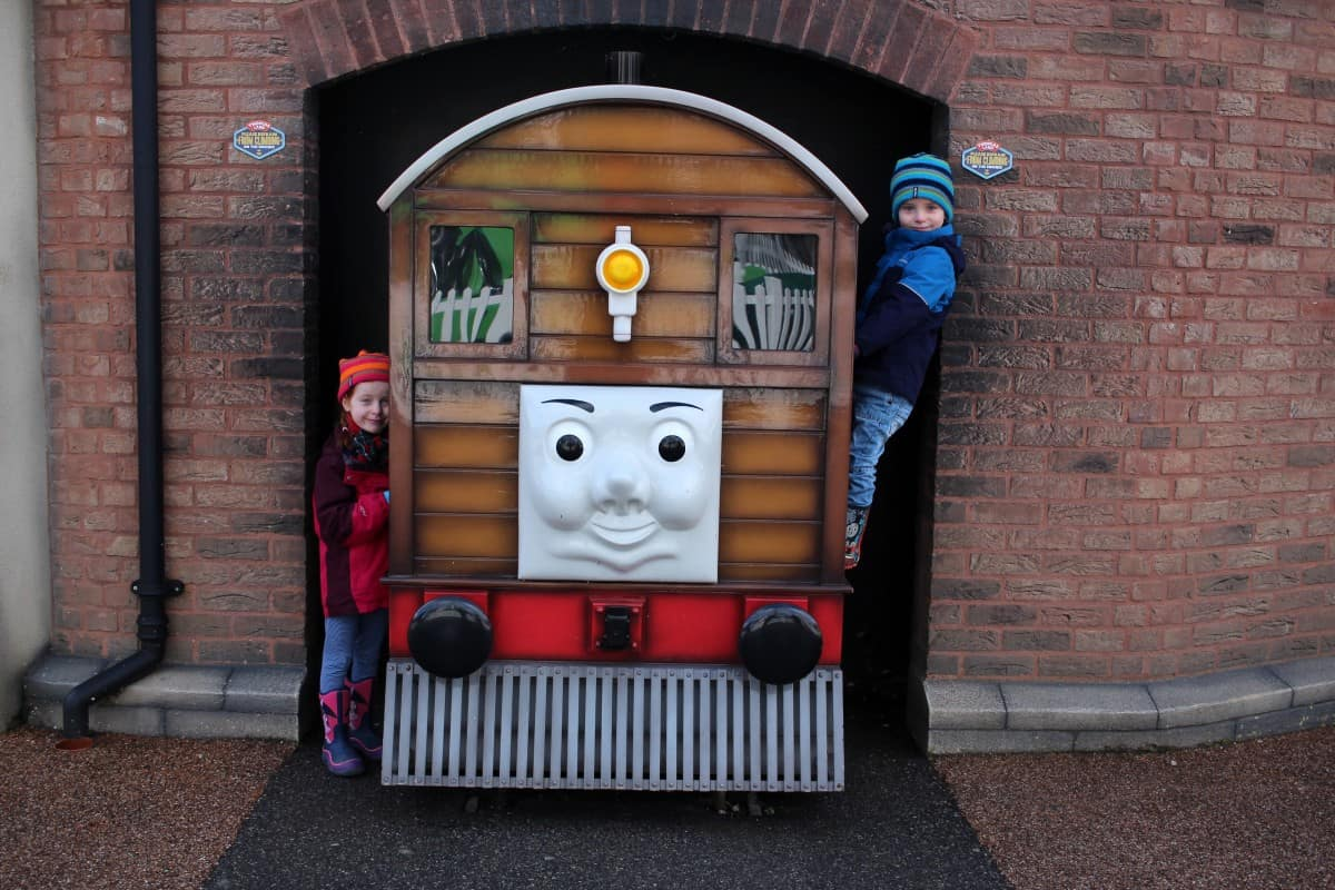A February Half Term Visit to Drayton Manor