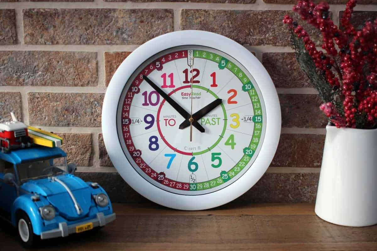 Review: Easy Read Time Teacher Clock