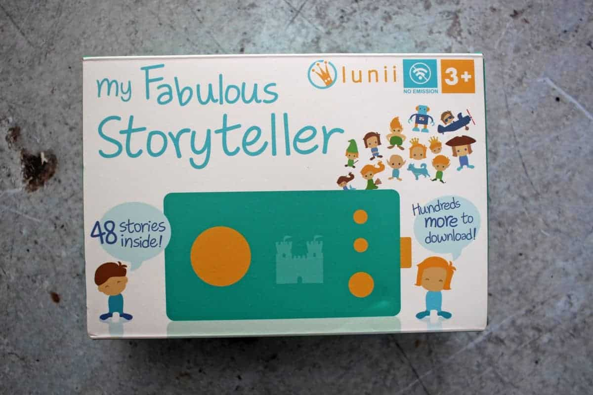 Lunii My Fabulous Storyteller Review and Giveaway