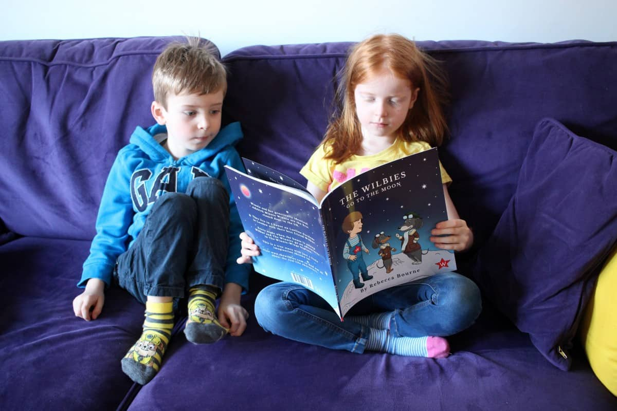 Review: The Wilbies go to the Moon by Rebecca Bourne