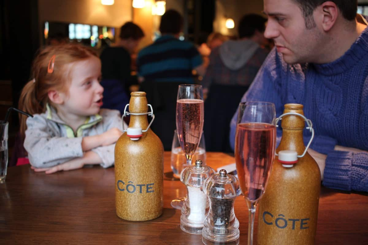 Celebrating Mothers Day at Côte Brasserie, Farnham