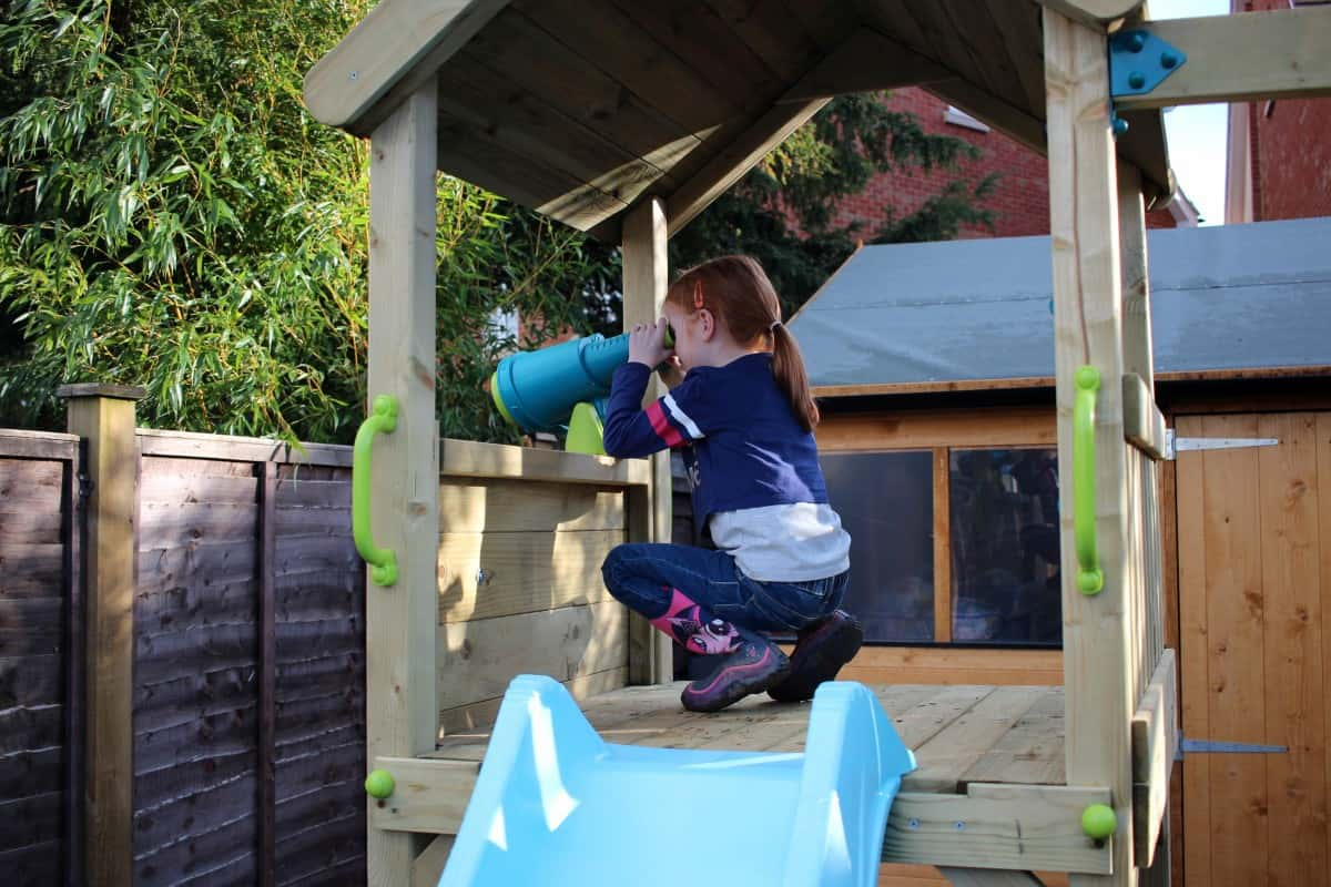 A Great Addition to our Garden - Plum Play Lookout Tower with Swings