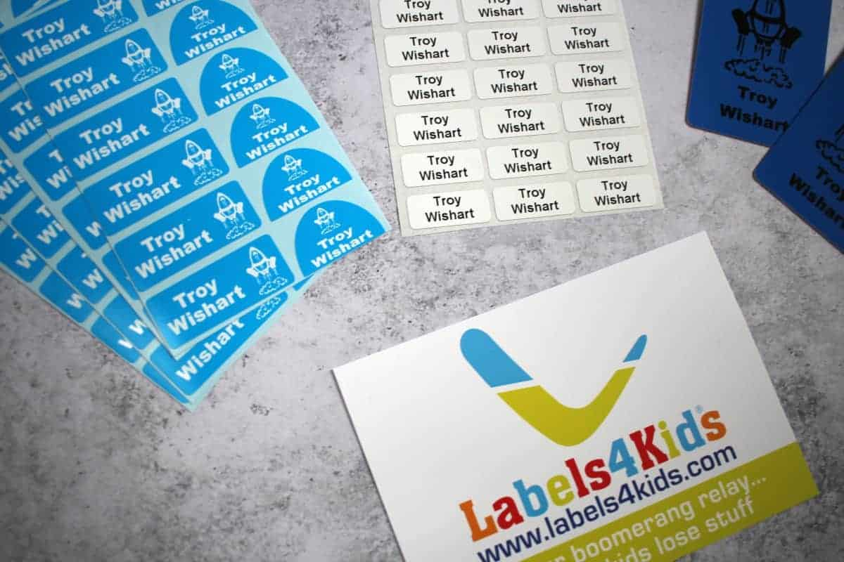Preparing for School with Labels4Kids