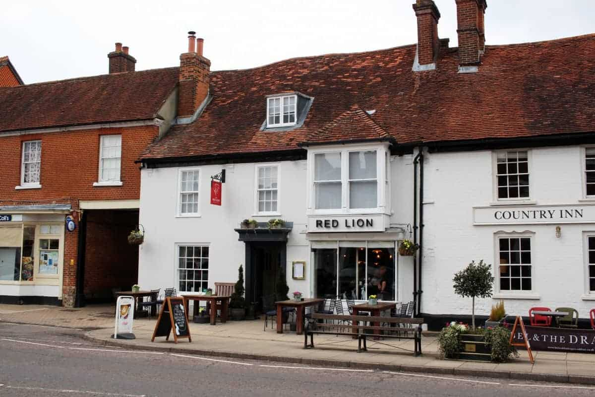 Sunday Lunch at The Red Lion - Odiham, Hampshire