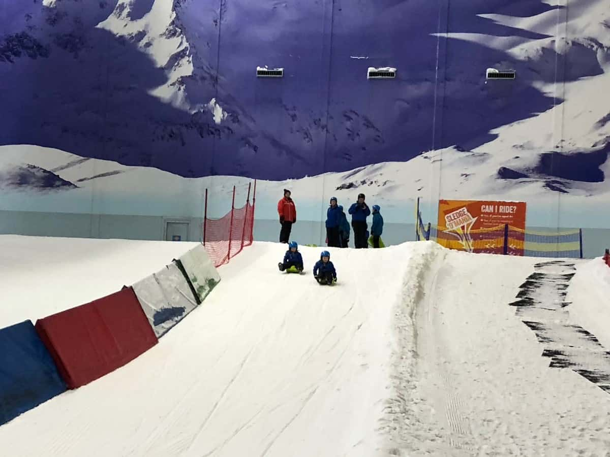 Chill Factore's Snow Park