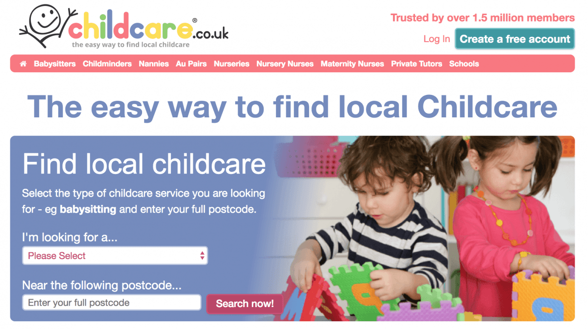 Finding a Childcare Solution with Childcare.co.uk